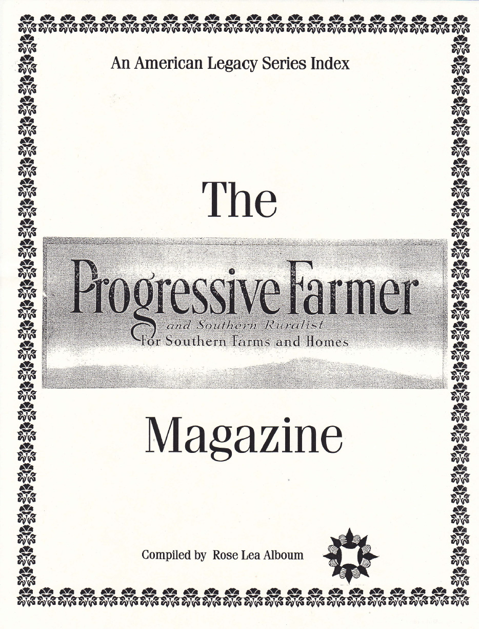 Progressive Farmer Magazine