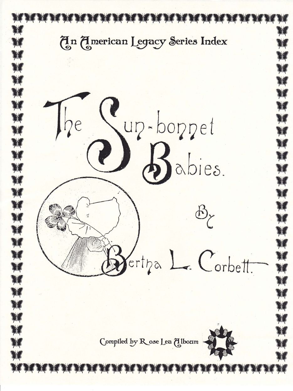 The Sunbonnet Babies by Bertha L. Corbett