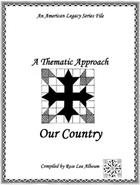 Our Country Quilt Block Patterns