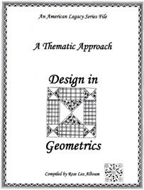 Design In Geometrics Quilt Block Patterns