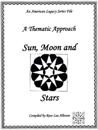 Sun, Moon and Stars Quilt Block Patterns