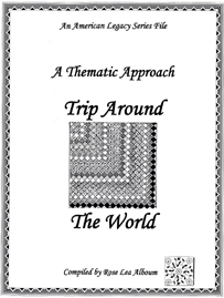 Trip Around The World Quilt Block Patterns